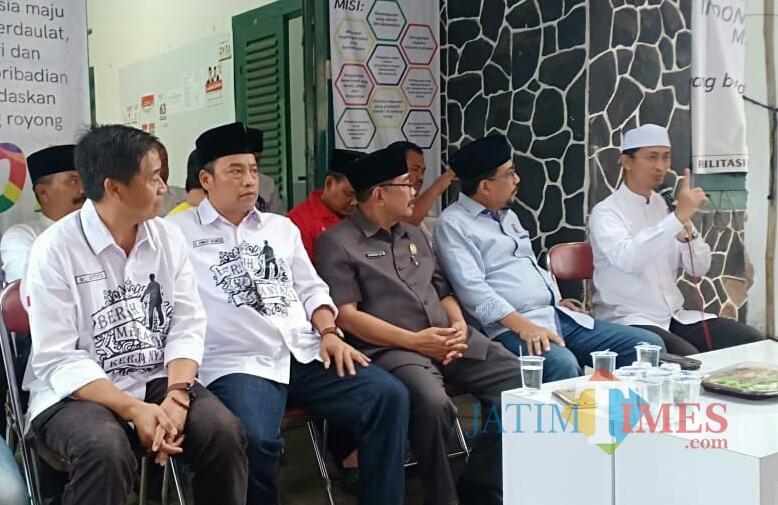 Suasana konsolidasi TKD Jokowi-KH Ma
