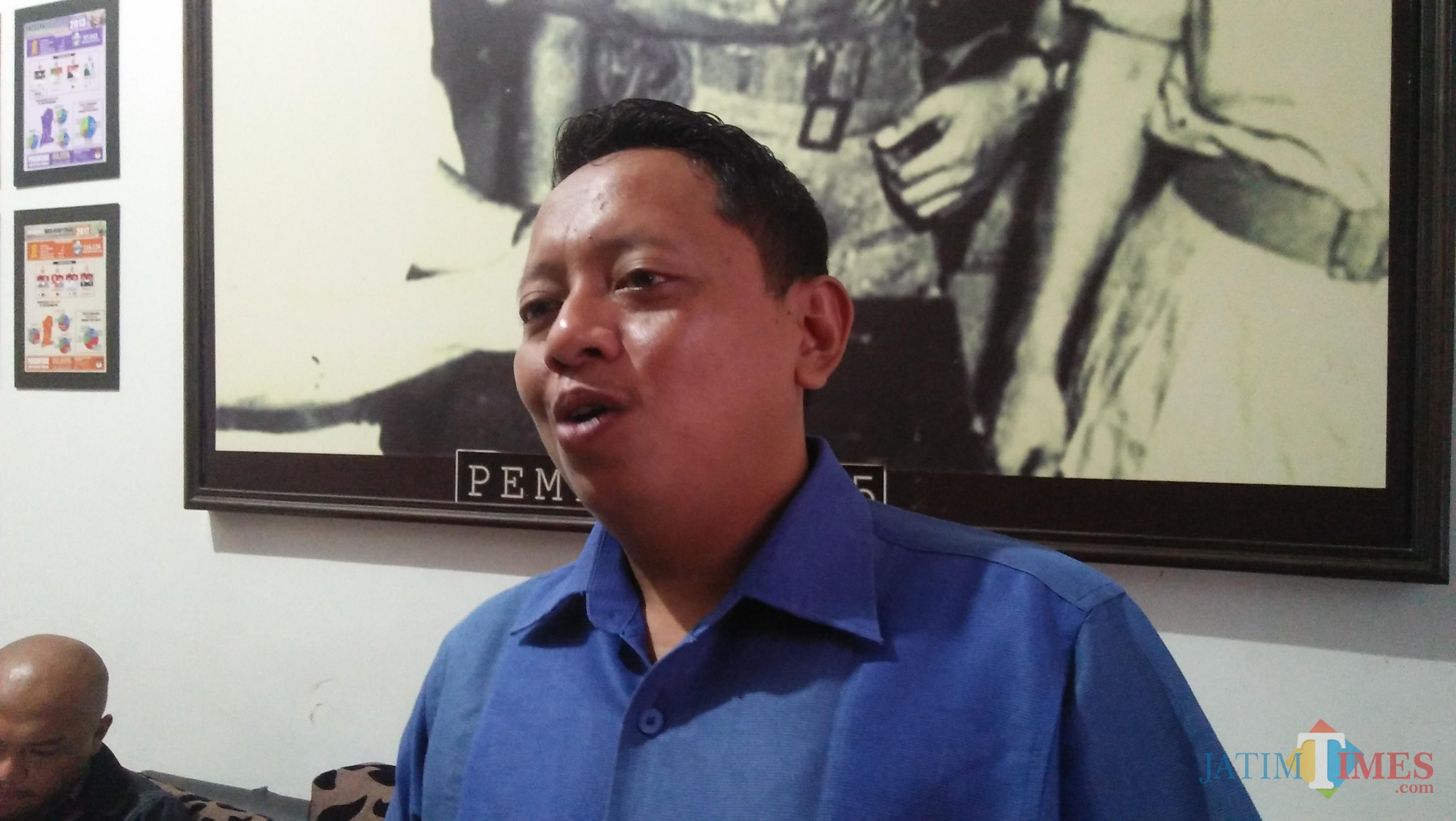 Syaifudin Zuhri, Ketua Komisi Pemilihan Umum Kota Batu (Luqmanul Hakim/Malang Times)