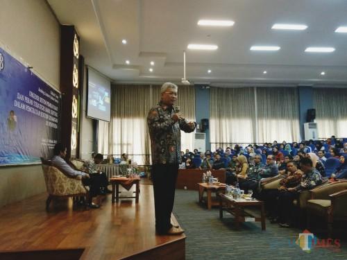 Kepala Perwakilan Bank Indonesia Provinsi Jawa Timur Difi Ahmad Johasyah. (Foto: Imarotul Izzah/MalangTIMES)