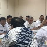 Rapat konsultasi dengan Pemprov Jatim