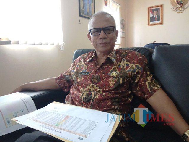 Ismuni, kepala Bapenda Kabupaten Blitar.(Foto : Team BlitarTIMES)