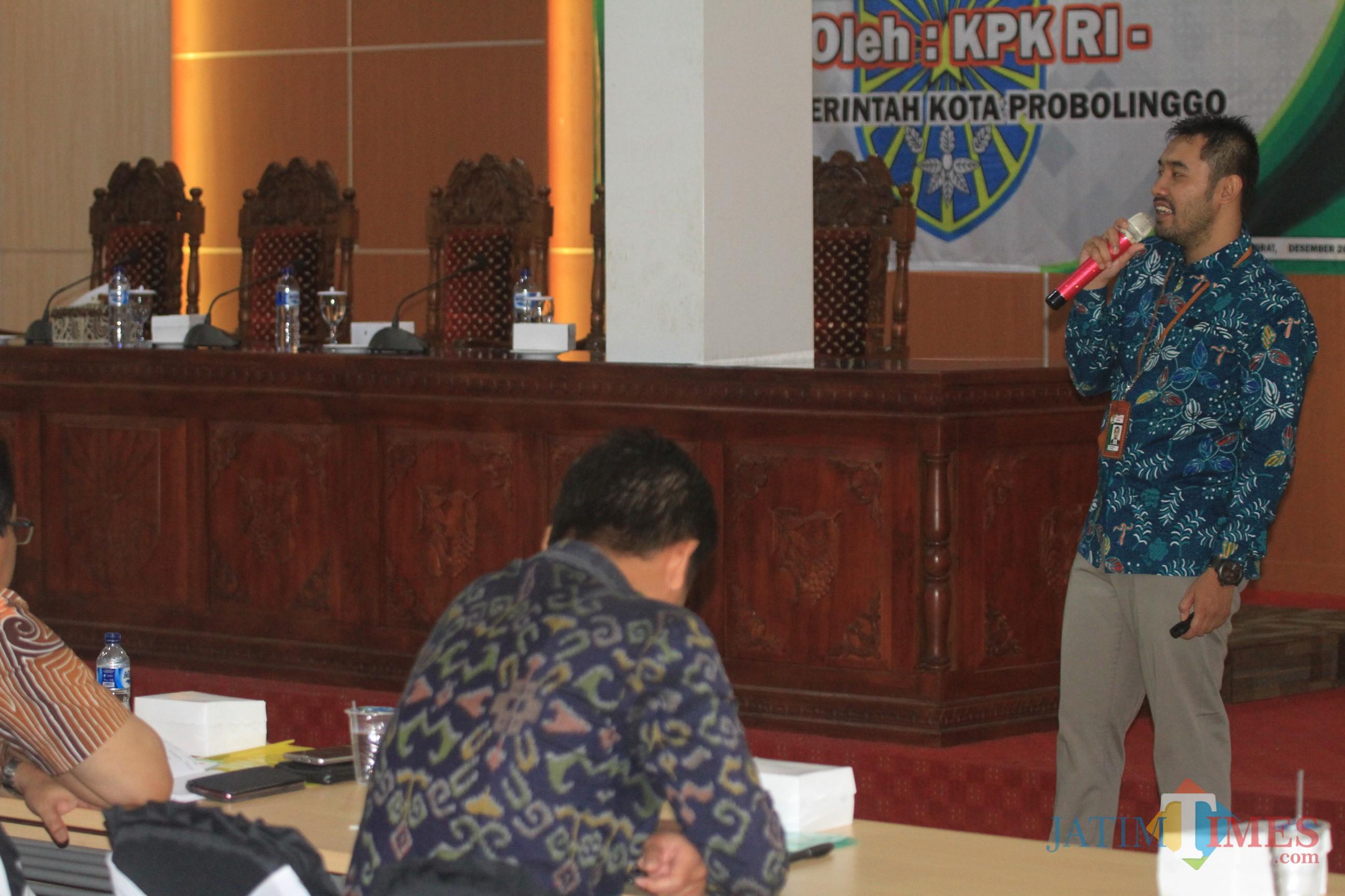 Anjas Prasetyo, Gratifikasi Direktorat Gratifikasi, Deputi Bidang Pencegahan KPK RI (Agus Salam/Jatim TIMES)
