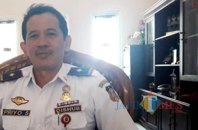 Priyo Suhartono, kepala Dishub Kota Blitar.(Foto : Team BlitarTIMES)