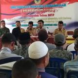 BPD Bersama Kades Ampelan saat melakukan Musrembang sekaligus pembahasan Perdes Cagar Budaya (Jum