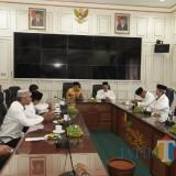 Suasana audiensi Wali Kota Malang Sutiaji dengan pengurus DPD LDII Kota Malang. (Foto: Humas Pemkot Malang for MalangTIMES)