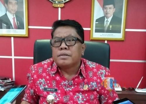Wakil Wali Kota Blitar, Santoso.(Foto : Team BlitarTIMES)
