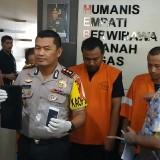 Polisi yang sudah mengamankan pelaku (Humas Polres Malang Kota)