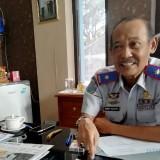 Kepala Dishub Kabupaten Malang Hafi Lutfi di ruang kerjanya (foto: Nana/ MalangTIMES)