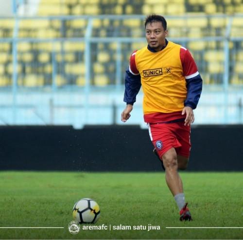 Kapten Arema FC Hamka Hamzah (official Arema FC)