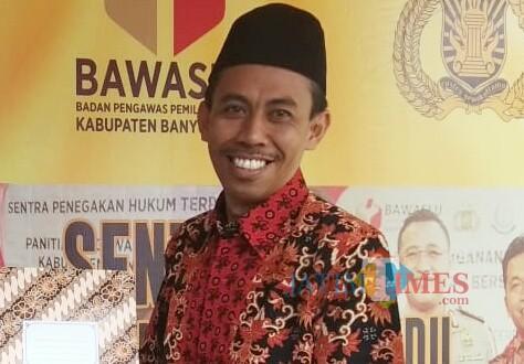 Ketua KPU Banyuwangi Syamsul Arifin