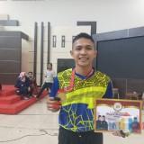 Serda Marten raih medali emas di kejuaraan nasional pencak silat Bupati Cup Meranti Kepulauan Riau.