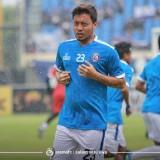 Kapten Arema FC Hamka Hamzah. (official Arema FC)