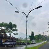 Penerangan jalan di Jalan�Sutan Hasan Halim Kelurahan Sisir, Kecamatan Batu. (Foto: Irsya Richa/MalangTIMES)