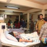 Wali Kota Hadi Zainal Abidin saat mendatangi RSUD dr Mohamad Saleh setelah mendengar kabar ada pasien DBD yang tak ditangani, Selasa (19/2/2019)  (Agus Salam/Jatim TIMES)