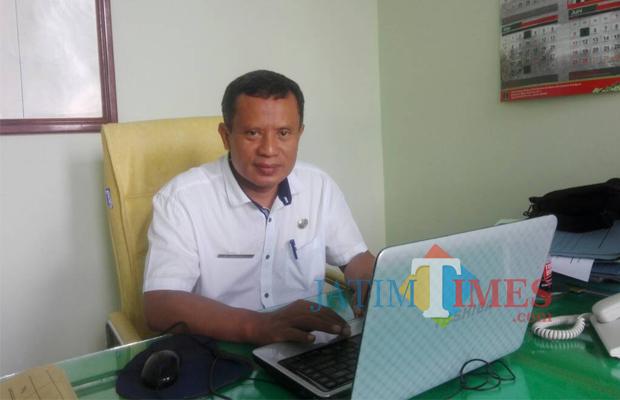 Krisna Triatmanto, Kepala DLH Pemkab Blitar.(Foto : Aunur Rofiq/BlitarTIMES)