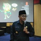 Wali Kota Malang Sutiaji saat menguraikan rencana daerah 2020 dalam kegiatan Barenlitbang Kota Malang. (Foto: Nurlayla Ratri/MalangTIMES)