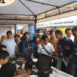 Perekaman E-KTP yang berlangsung di kawasan Balai Kota Malang diserbu warga (Pipit Anggraeni/MalangTIMES).