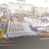 Acara Sosialisasi Milenial Road Safety Festival yang digelar minggu lalu oleh Satlantas Polres Jember