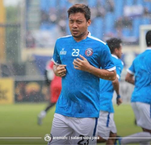 Kapten Arema FC, Hamka Hamzah (official Arema FC)