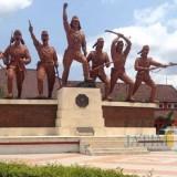 Monumen pemberontakan PETA Blitar.(Foto : Team BlitarTIMES)