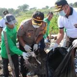 Peringatan HPSN 2019, Kapolresta Kediri Ajak, TNI dan Masyarakat Lebih Peduli Dengan Sampah. (Foto: Istimewa)