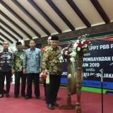 Launching aplikasi perpajakan daerah Kabupaten Malang yang ditandai dengan pemukulan gong eh Wakil Bupati Malang, M. Sanusi (Pipit Anggraeni/MalangTIMES).