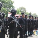 Ilustrasi gelar pasukan kepolisian Polres Malang guna mengusut pelaku penembakan misterius, Kabupaten Malang (Foto : Dokumen MalangTIMES)