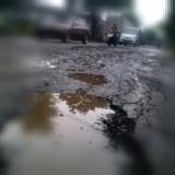 Ilustrasi jalan rusak (Ist)