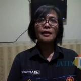 Kasubag Humas Polres Malang Kota, Ipda Ni Made Seruni Marhaeni saat ditemui di ruang kerjanya. (Foto: Dokumen MalangTIMES)