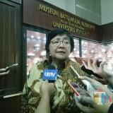 Menteri Lingkungan Hidup dan Kehutanan Siti Nurbaya Bakar (Foto: Imarotul Izzah/MalangTIMES)