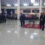 Suasana pelantikan pejabat di Aula Wahya Wibawa Graha Pemkab Jember (foto : istimewa / Jatim TIMES)