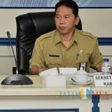 Sekda Kabupaten Malang Didik Budi Muljono dalam suatu acara (Nana)
