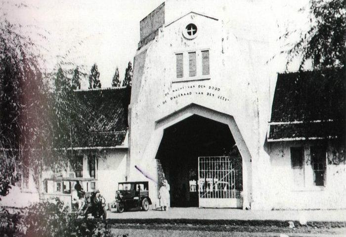 TPU Sukun Nasrani yang merupakan makam bersejarah (istimewa)