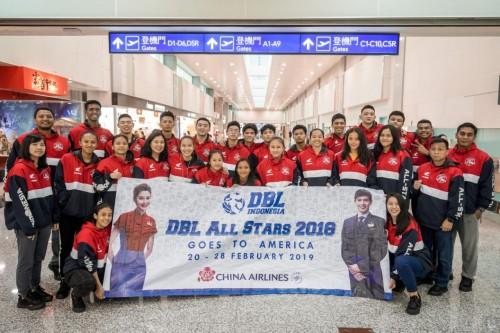 Tim Honda DBL Indonesia All-Star 2018 terbang ke Los Angeles, California, Amerika Serikat untuk melakukan pemusatan latihan. (Foto : Istimewa)