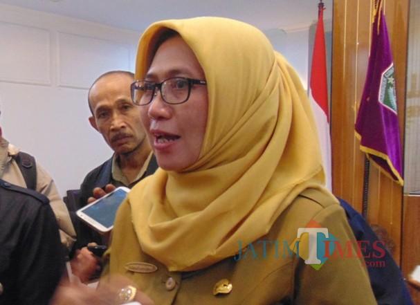 Wakil Bupati Lumajang Ir. Indah Amperawati (Foto : Moch. R. Abdul Fatah / JatimTIMES)