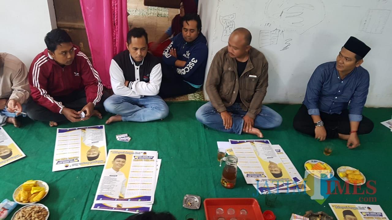 Dialog dengan petani dan peternak Nongkojajar Kabupaten Pasuruan.
