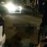 Tabrakan Adu Banteng dengan Mobil Pick Up, Pemuda 20 Tahun Tewas di Lokasi