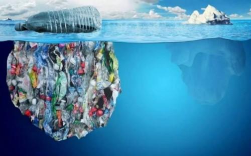 Ilustrasi sampah plastik. (Ist)