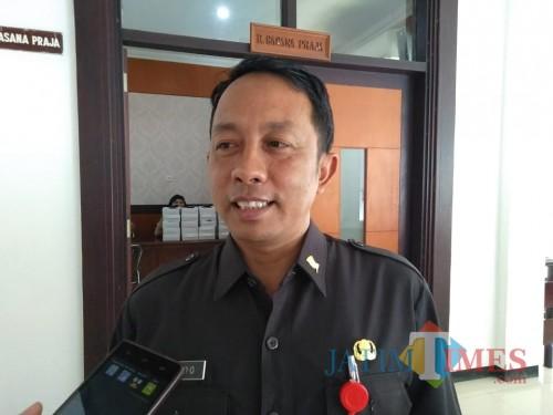 Widodo Saptono Johanes, Kepala BPKAD Pemkot Blitar.(Foto : Team BlitarTIMES)