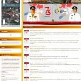 Beranda website Disparbud Kabupaten Malang. Hanya bisa akses tampilan muka tapi masih rusak bagian menu dan submenunya (screenshot Disparbud)
