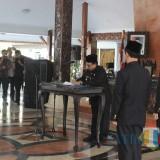 Mutasi pejabat eselon II digelar di Pendopo Ronggo Hadi Negoro.(Foto : Team BlitarTIMES)