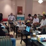 Sejumlah kepala OPD bersama dengan Managemen Lippo saat menyampaikan rencana festival Panggon Pandhalungan (foto : Moh. Ali Makrus / JatimTIMES)