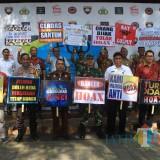 Kapolres, Forkopimda dan jajaran kepala OPD Pemkab Blitar kompak perangi berita hoax