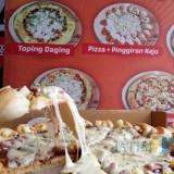 Pizza Azza Kediri. (Foto: B. Setioko/JatimTIMES)