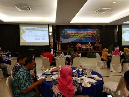 Suasana forum renja Dinas Perdagangan Kota Malang (Hendra Saputra)
