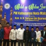 Wawali Malang dan Ketua DPC Demokrat Kabupaten Malang Melek'an dan Munajat Bersama Pengurus Wahidiyah