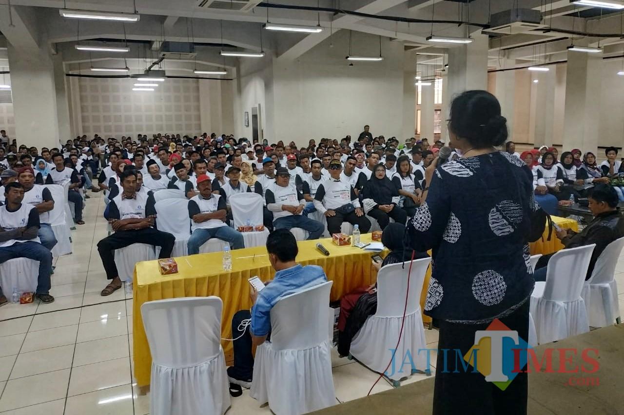 Sosialisasi Peran Bank Indonesia Dalam Memfasilitasi Perekonomi Digital dan Ekonomi Kreatif di Basement Simpang Lima Gumul Kediri, Kamis (28/02/2019). (Foto: Istimewa)