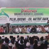 Suasana deklarasi Baguss Bersatu Jombang di gedung pertemuan Pabrik Gula Jombang Baru. (Foto : Adi Rosul / JombangTIMES)
