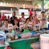 Relawan KareB saat blusukan ke Kampung Pecinan