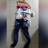 Pakaian korban yang kini dijadikan sebagai barang bukti